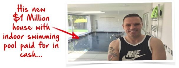work with paul and maybe get your own indoor pool from the profits